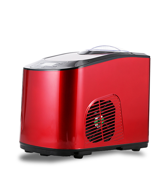 Best Commercial Ice Cream Maker Machine In Red