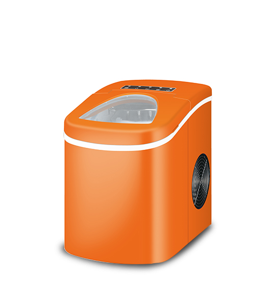 Stainless Steel Orange Ice Maker Machine For Home Use