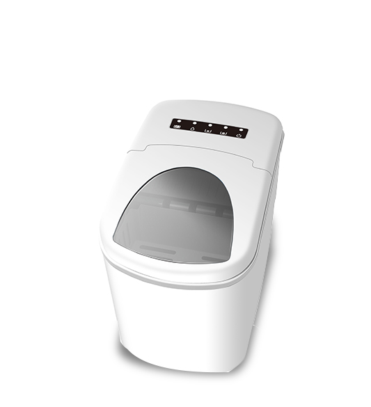 Home Use White Portable Countertop Ice Maker
