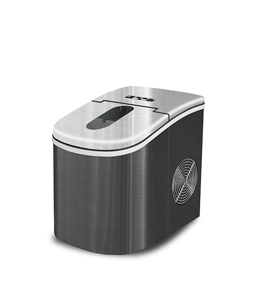 HZB-12A-BK Homebrew Stainless Steel Bullet Portable Ice Maker
