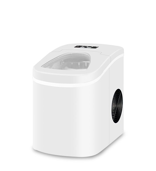 Portable Home Mini Ice Maker White or Black Color HZB-12A W