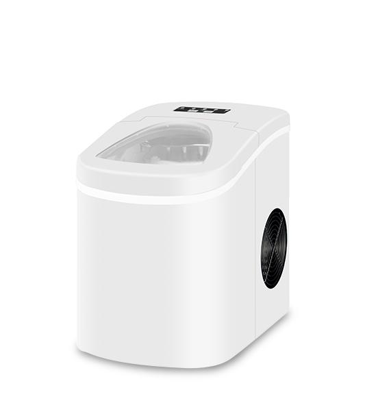 Portable Home Mini Ice Maker White or Black Color HZB-12A W