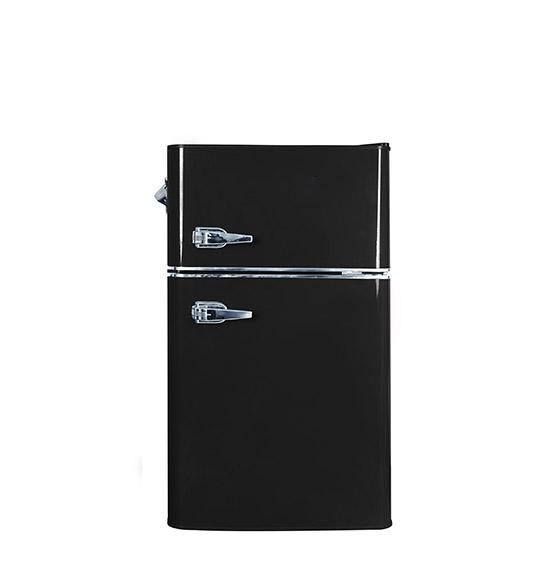 90-liter Double-door Hidden Door Handle Refrigerator BCD-90