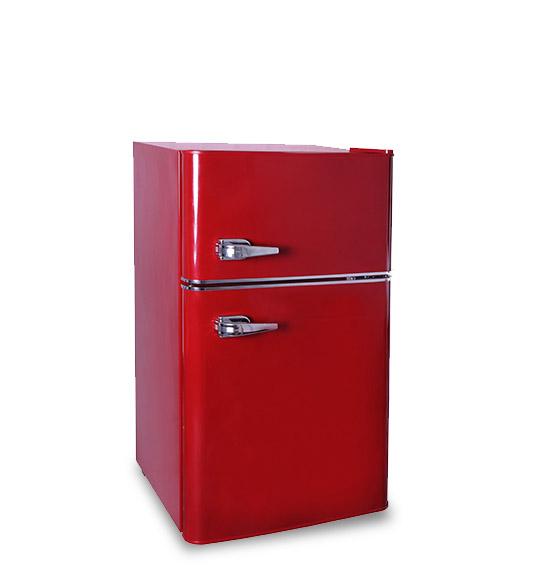 Refrigerator BCD-90 Red