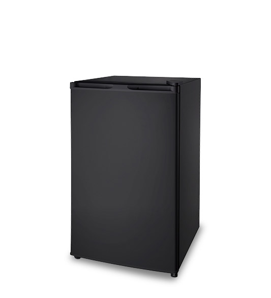 Black New 128l Large-capacity Refrigerator