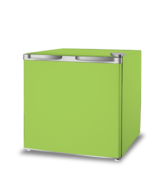 Mini Refrigerator for Fruits and Vegetables in Green