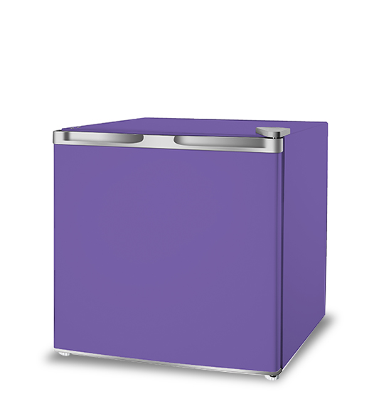Purple Cheap Price Homebrew Small Size Refrigerator