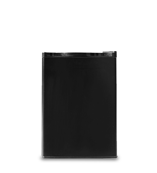 Hot Selling Black Upright Stainless Steel Mini Refrigerator