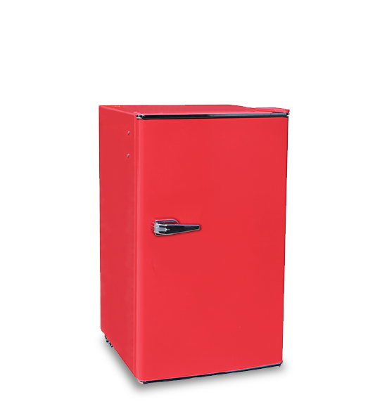 Home Single Door Stainless Steel Refrigerator