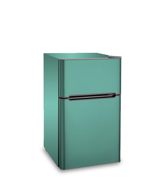 Refrigerator BCD-90 Green