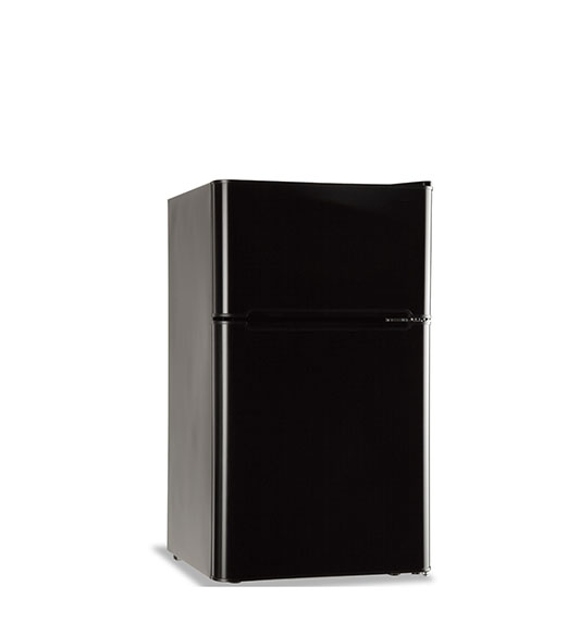 Refrigerator BCD-90 Black stainless steel