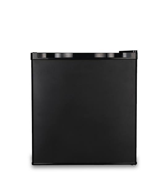Black Hot Selling Single Door Compact Complete Refrigerator
