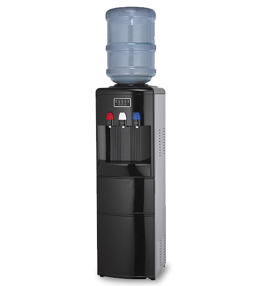 Hot and Cold Compressor Cooling Water Dispenser With Ice Maker