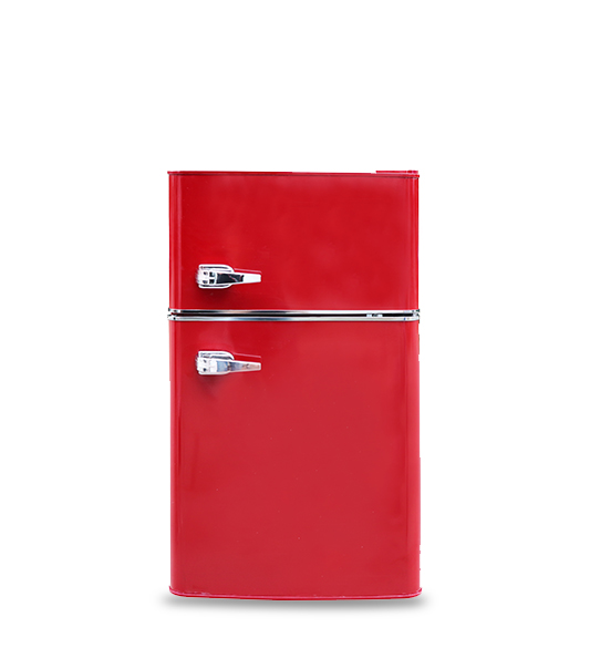 Refrigerator BCD-90 New Red