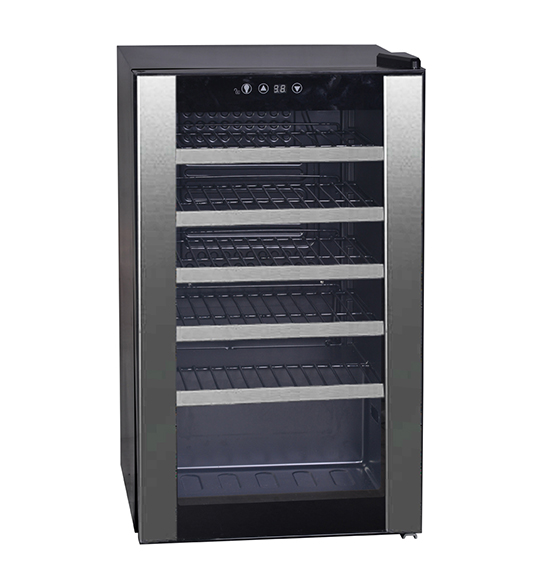 40 Bottle White Wine Beverage Cooler JC-75
