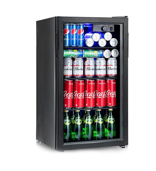 Black door wine beverage cooler JC-90
