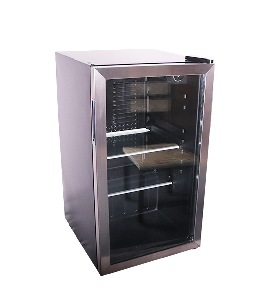 Stainless steel door wine beverage cooler JC-90