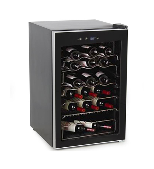 Single Zone Wine Cooler with Wire Shelves JC-128
